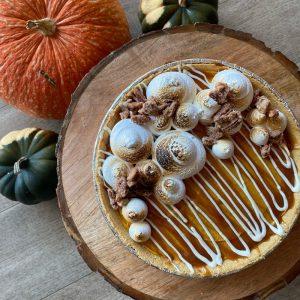 Luminary Chefs Pumpkin Cheesecake